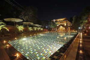 Swimming Pool at Ananta Bagan Hotel