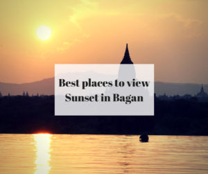 Best places to view Sunset in Bagan