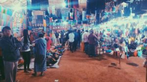 Night Market at Bagan