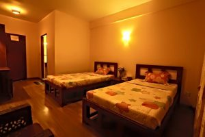 Cheap and clean hotel room in Bagan