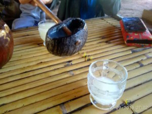 Palm wine at Bagan